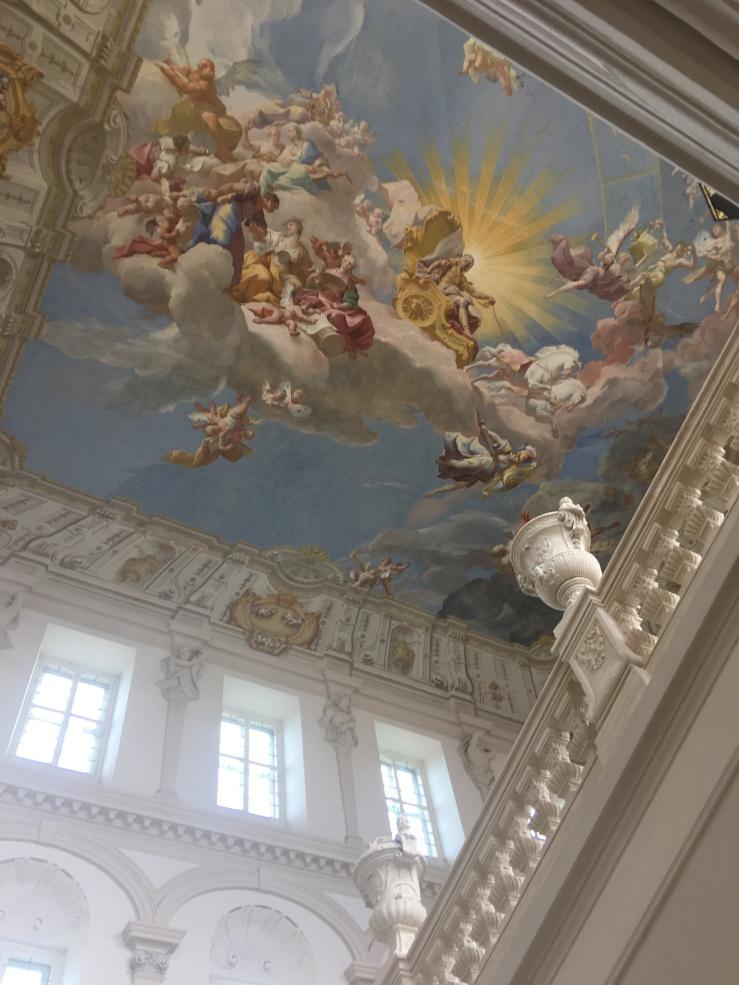 Fresco, Imperial staircase