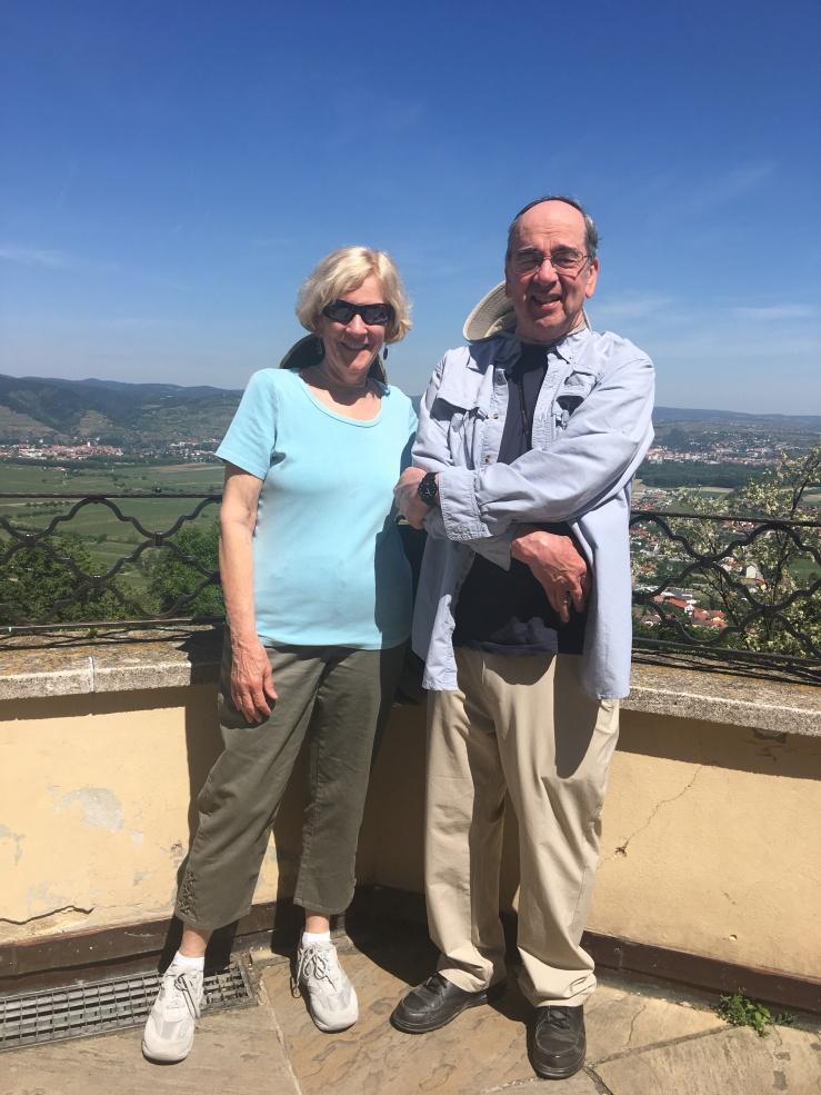 Sharon and Harry at Göttweig Abbey, Austria