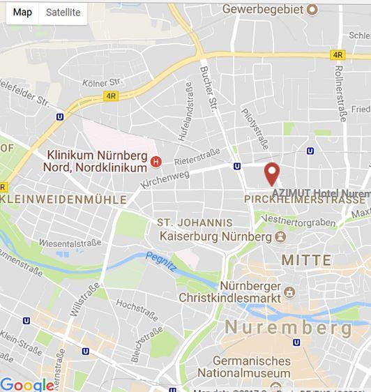 Mitte Nuremberg, Azimut hotel