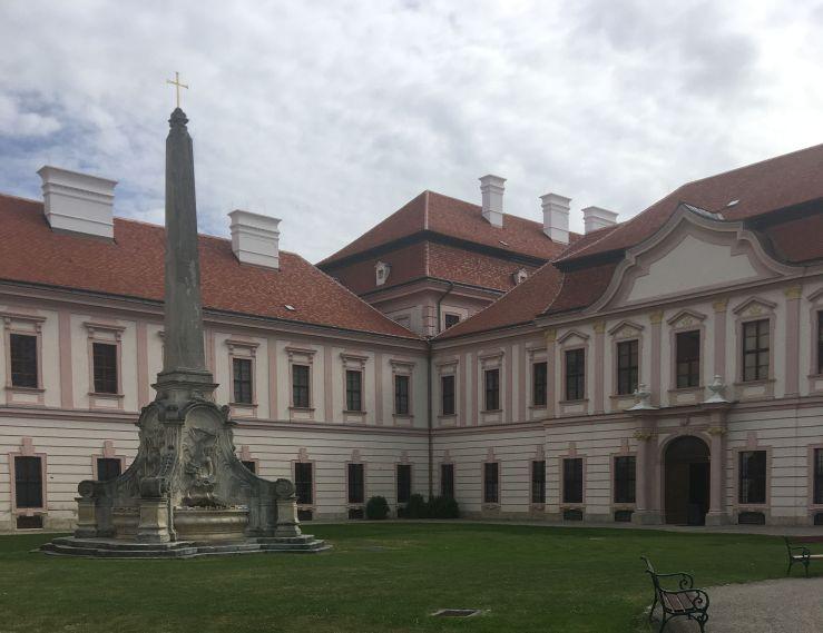 Gottweig Abbey, 18th century architecture