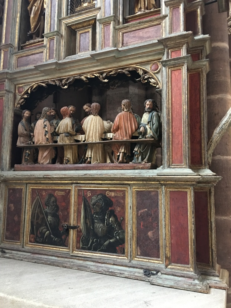 last supper diorama, Nuremberg