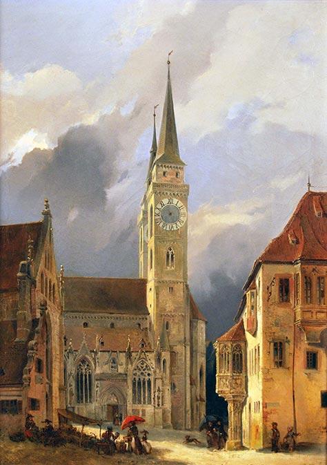 Neher, St Sebaldus painting