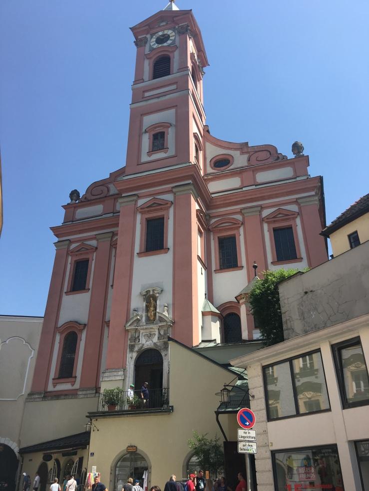 St Pauls Church Rinderkarkt Passau