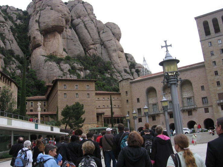 Cathedral at Montserrat