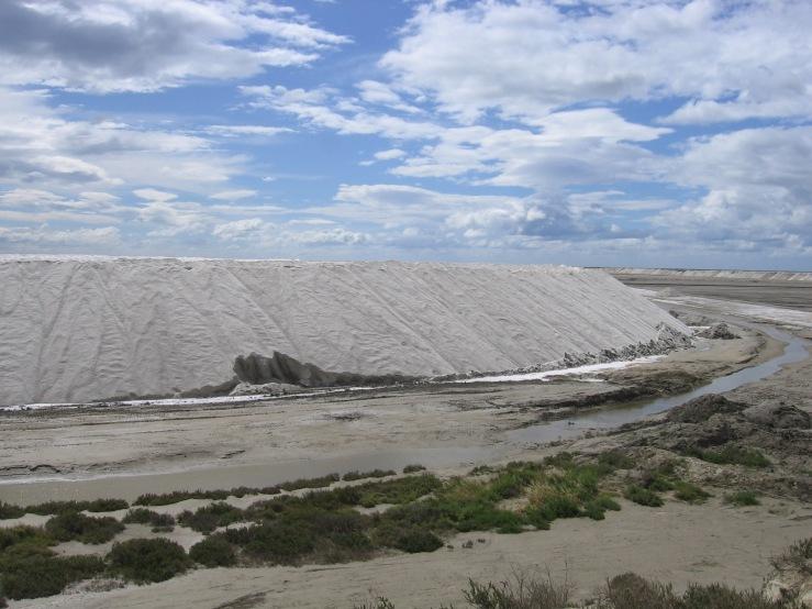 Salt farms in the Camargue