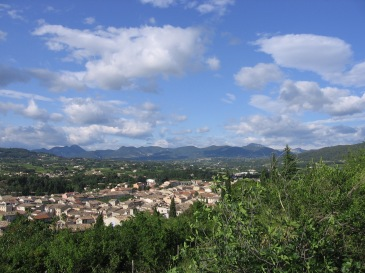 View of Vaison