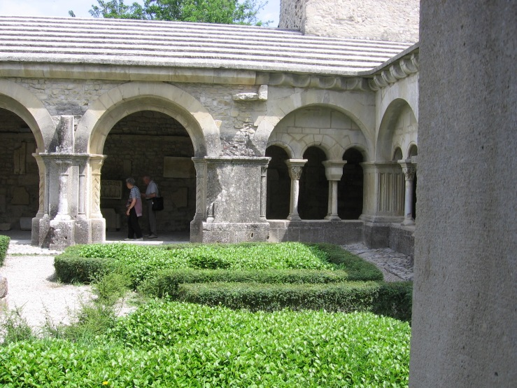 Cloister, Cathedral at Vaison