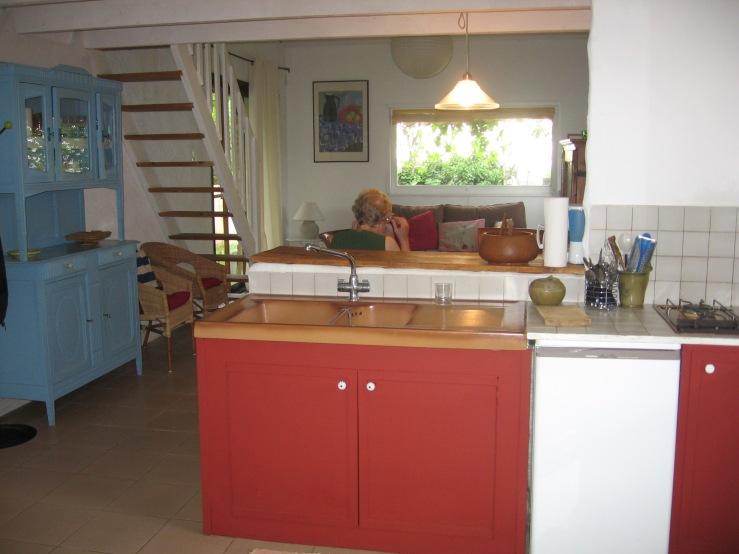 La Clede, our beautiful apartment in Seguret