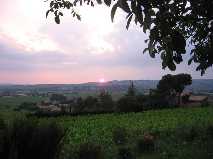 Sunset at La Clede