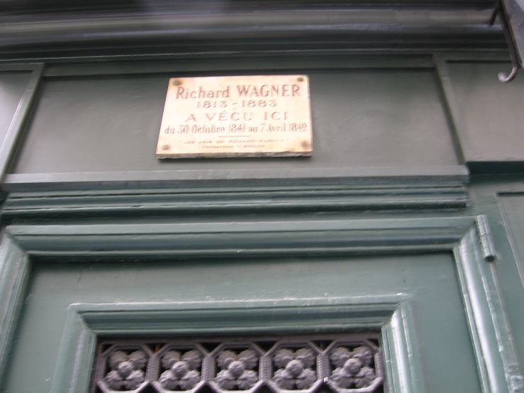 Wagner stayed here, Quartier Latin, 14 rue Jacob
