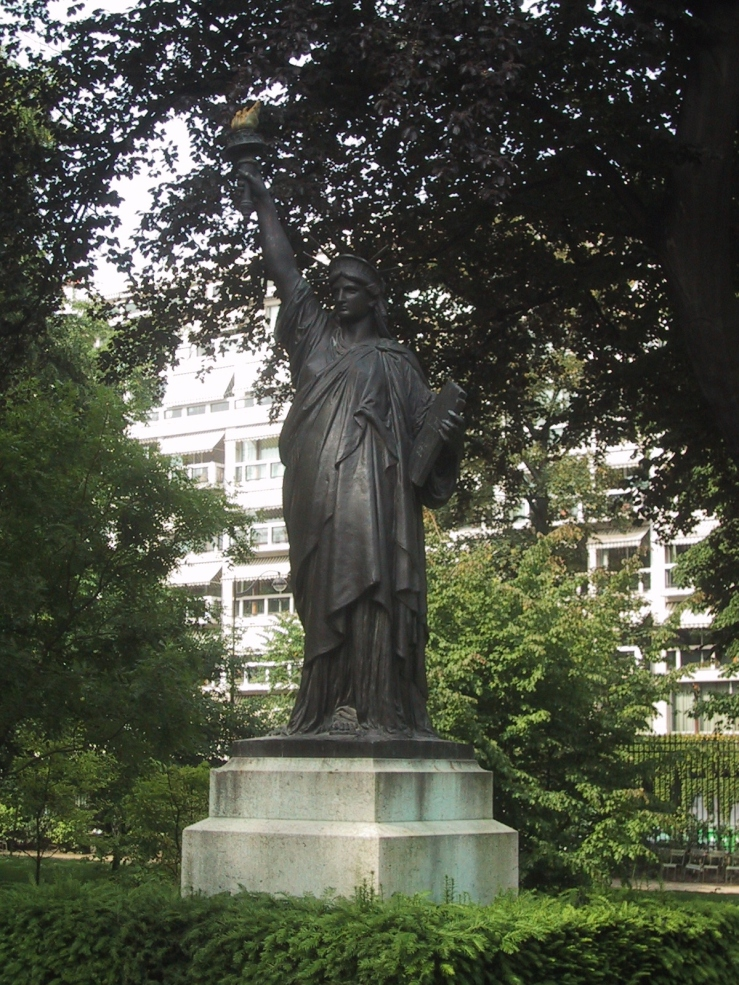 Statue of Liberty, Luxembourg Gardens