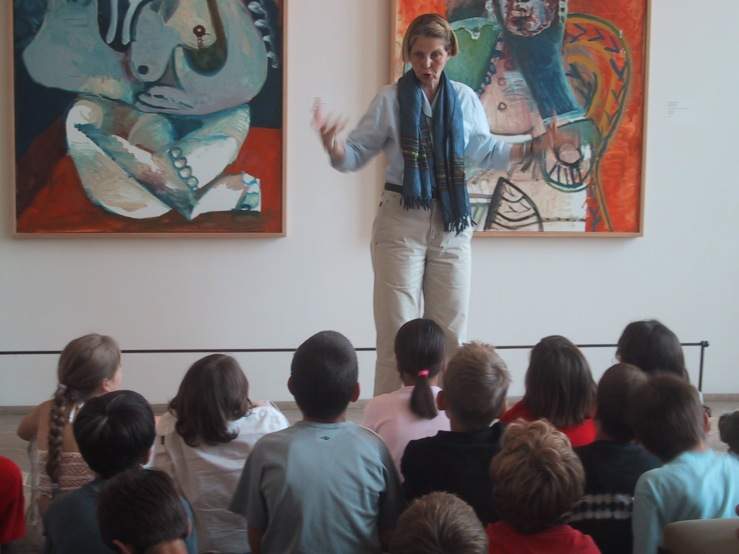 Teaching at the Picasso Museum
